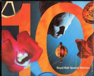 GREAT BRITAIN 1993 COMMEMORATIVE STAMPS IN COLLECTOR ALBUM AS ISSUED COMPLETE