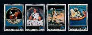 [102285] Cook Islands 1979 Space travel weltraum Apollo 11  MNH