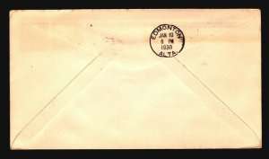 Canada 1929 FFC Ft Simpson to Ft McMurray - Z17437