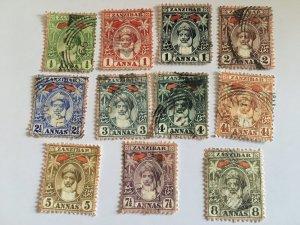 1899-1902 Stamps From Zanzibar