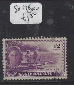 SARAWAK  (P2704B)  KGVI  12C  SG 178   VFU