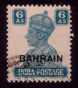 BAHRAIN GVI 1942-45 GVI 6a fine used SG48 cat £12..........................45169
