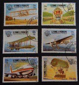 Aircrafts, aviation, Sao Tome and Principe, (2311-Т)
