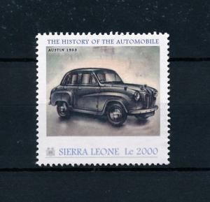 [76413] Sierra Leone 2010 Classic Cars Austin 1953 Type A 30 MNH