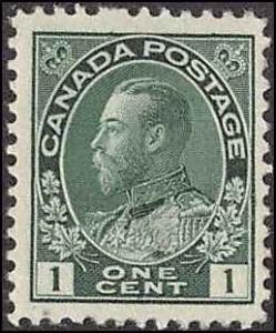 CANADA #104 MH