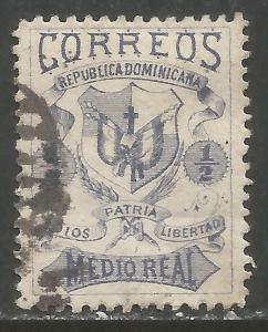 DOMINICAN REPUBLIC 32 VFU ARMS W834