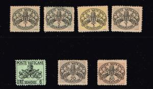 ITALY STAMP VATICAN MINT STAMP COLLECTION LOT #T11