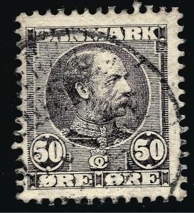 Denmark Nice SC #68 F-VF USED hr Cat $90 Collectors...Make an OFFER!