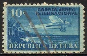 Cuba 1931 Air Mail Scott# C5 Used
