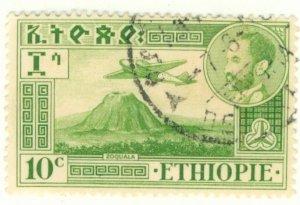 A2-0035 ETHIOPIA C24 USED BIN $.50