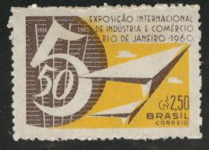Brazil Scott 914 MH* 1960 stamp