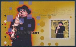 [95093] Ireland 2002 Music Van Morrison Saxophone Sheet MNH
