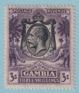 GAMBIA 117 MINT HINGED OG*  NO FAULTS EXTRA FINE