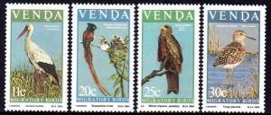 Venda - 1984 Migratory Birds Set MNH** SG 91-94