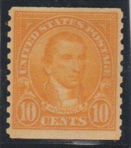 U.S. Scott #603 Monroe Stamp - Mint Single