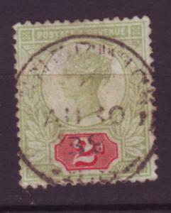 J19747 Jlstamps 1887-92 great britain used #113 queen