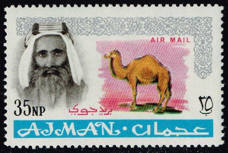 Ajman #C3 Camel; Unused (2Stars)