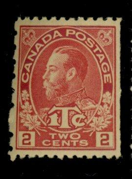 Canada #MR5 MINT F-VF OG HR Cat$65