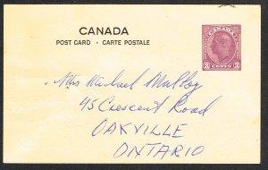 Canada Unitrade Postal Card UX78c
