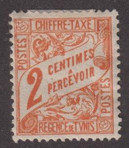 Tunisia J2 Postage Due 1901