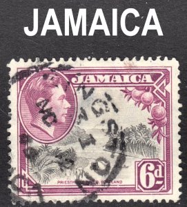 Jamaica Scott 123a perf 12 1/2 Fine used with a beautiful SON cds.