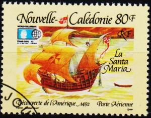 New Caledonia. 1992 80f S.G.942 Fine Used