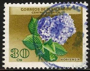 El Salvador 1965 Scott# 754 Used