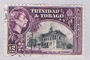 Trinidad & Tobago 79 Used Town Hall 1953 (BP31811)
