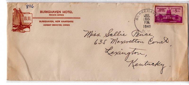 US Hotel Advertising, Burkehaven Hotel, Burkehaven, NH ...  7550361
