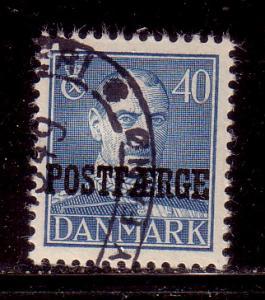 Denmark Sc Q29 1945 40 ore Parcel  stamp used
