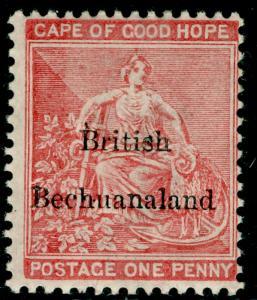 BECHUANALAND SG5, 1d rose-red, LH MINT. Cat £27.
