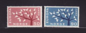 Norway 414-415 Set MH Europa