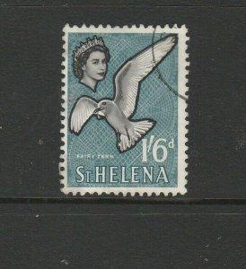 St Helena 1961/5 Defs, 1/6 Bird VFU SG 185