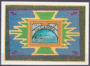 1991 Gambia 1250/B129 Marine fauna 11,00 €