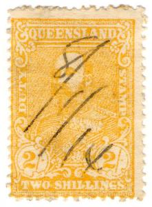 (I.B) Australia - Queensland Revenue : Stamp Duty 2/-