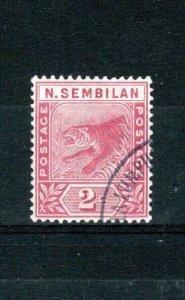 Malaysia - Negri Sembilan 1891-94 2c rose FU CDS