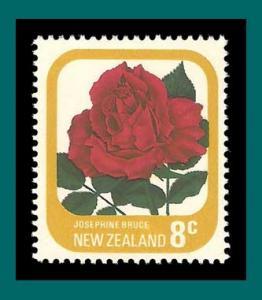 New Zealand 1975 Josephine Bruce Rose,MNH  #591a,SG1093