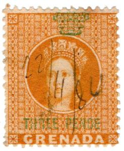 (I.B) Grenada Revenue : Duty Stamp 3d