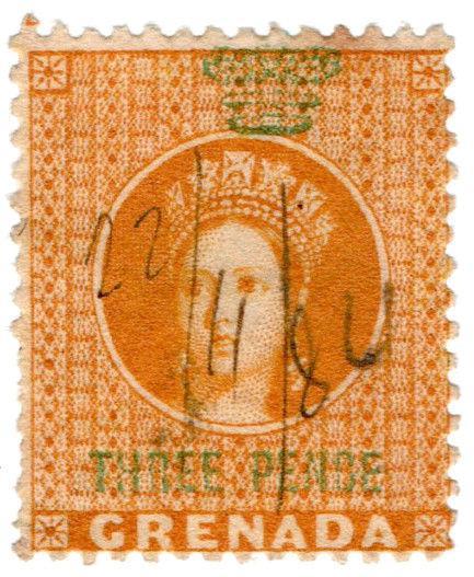 (I.B) Grenada Revenue : Duty Stamp 3d