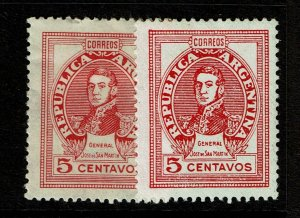 Argentina SC# 547 and 548, Mint Hinged (See Notes) - S10715