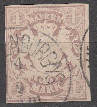 Bavaria #31   F-VF  Used CV $85.00  (A13082)