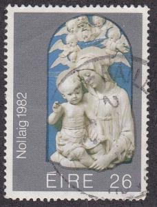 Ireland # 536, Christmas - Madonna & Child, Used