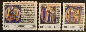 Norway 1977 #706-8 MNH. Christmas