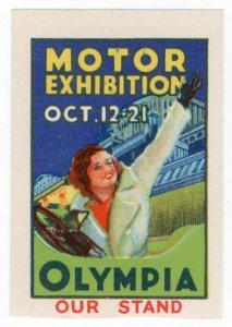 (I.B-CKK) Cinderella Collection : Motor Car Exhibition (Olympia)