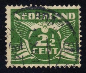 Netherlands #169 Gull, used (0.25)