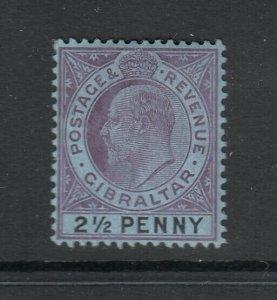 Gibraltar, Sc 54 (SG 59), MHR