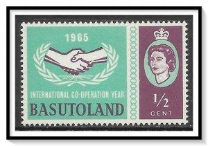 Basutoland #103 Cooperation Year MNH