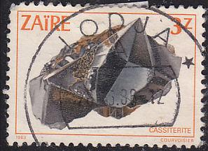 Zaire 1107 Cassiterite 1983