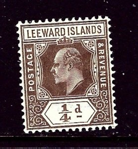 Leeward Is 41 MLH 1909 issue    (ap4124)