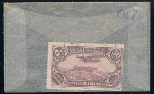 Lebanon C47 Used Plane over Racheya 1930 (L0083)